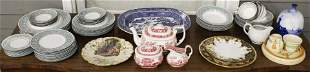 Group of English Porcelain incl. Wedgwood, Spode