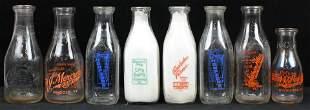 Vermont, NH Milk Bottles