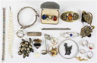 A Group of Vintage Jewelry