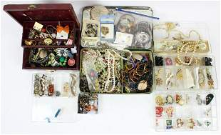 Large Group of Victorian & Vintage Jewelry