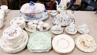 Large Lot of Porcelain incl. Worcester, Limoges