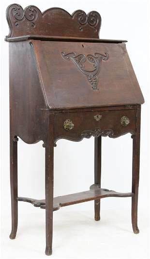 Victorian Stained Birch Ladies writing desk