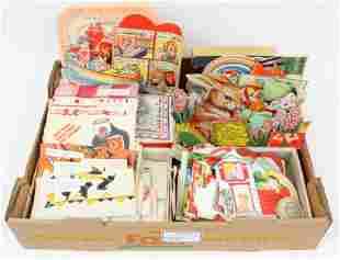 Vintage Valentines, Holiday Cards, Napkins