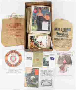 Early Magazines, Ephemera incl Store Wrappers