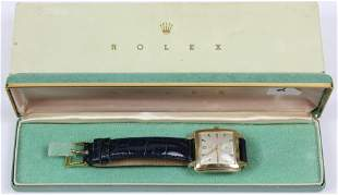 Rolex 4645 Precision 18k Gold Men