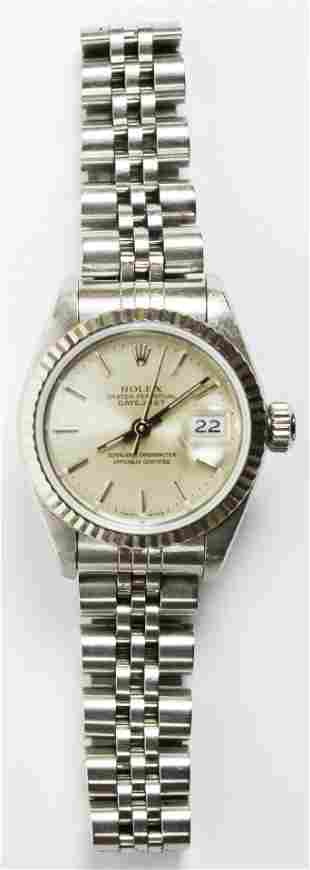 Rolex Datejust Perpetual Oyster Wrist Watch
