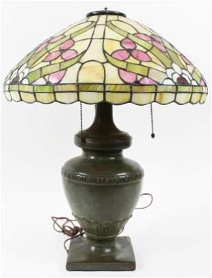 Handel Leaded Shade Table Lamp