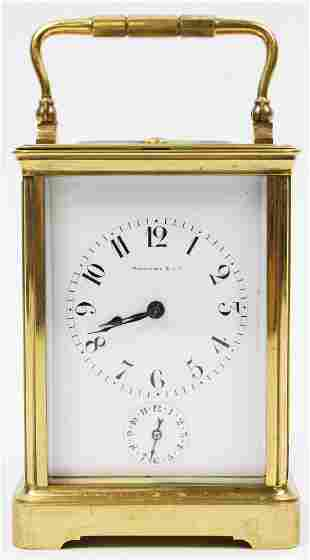 Tiffany & Co Grand Sonnerie Carriage Clock