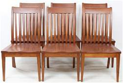 Set of Six Ethan Allen Signature Dining Chairs