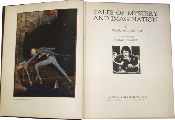 3: Edgar Allen Poe Tales of Mystery and Imagination