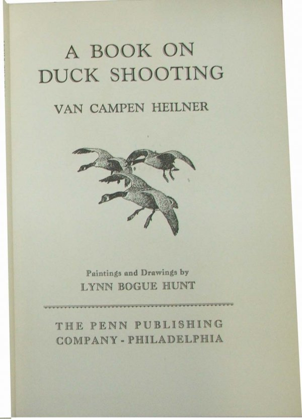 5: A Book On Duck Shooting