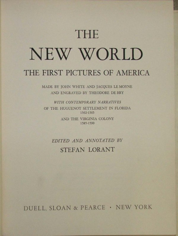 9: 1946 1st ed Stefan Lorant The New World