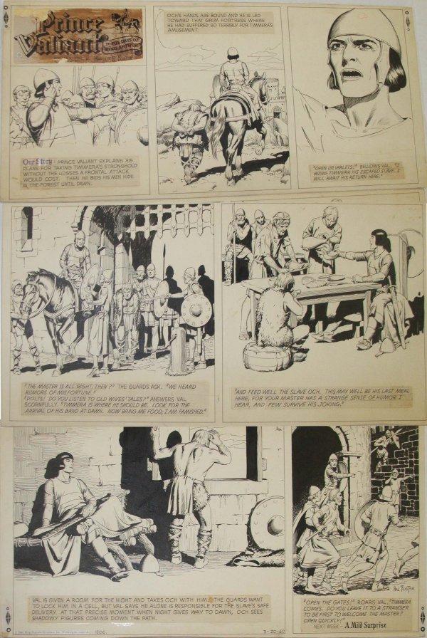 47: Prince Valiant Sunday Cartoon