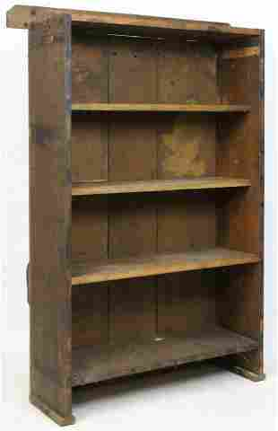 Adirondack Rough Sawn Bookcase
