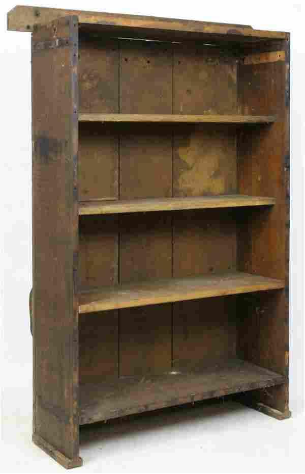 Adirondack Rough Sawn Bookcase