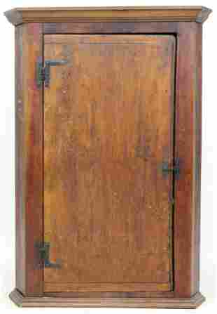 Primitive Hanging Corner Cupboard