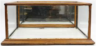 Oak Country Store Countertop Display Case