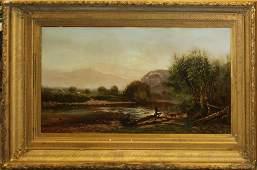 Ernest Parton (AM 1845-1933) Saco River, ME