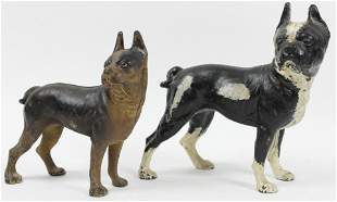 Hubley English Bulldog Cast Iron Doorstops