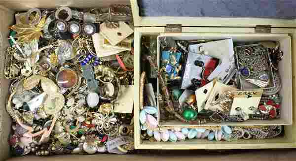 Large Lot of Costume Jewelry incl. Signed Items
