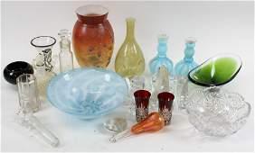 Vintage Art Glass Incl. Steuben, Orrefors, etc.