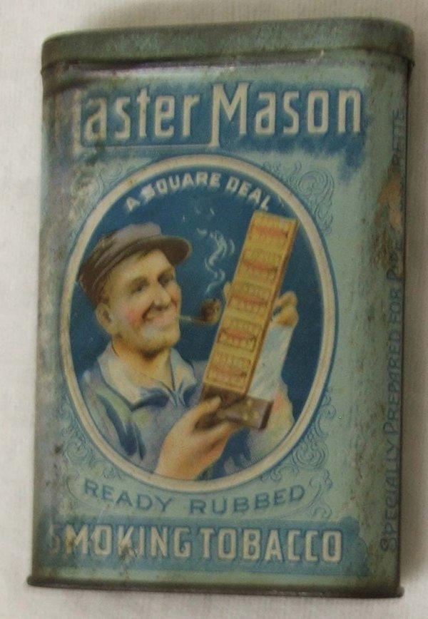 2: Master Mason  pocket tobacco tin