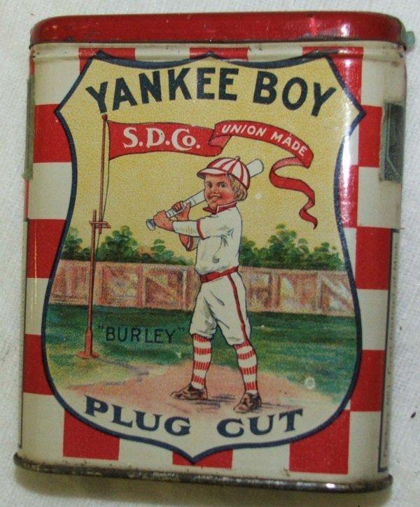 3: Yankee Boy pocket tobacco tin