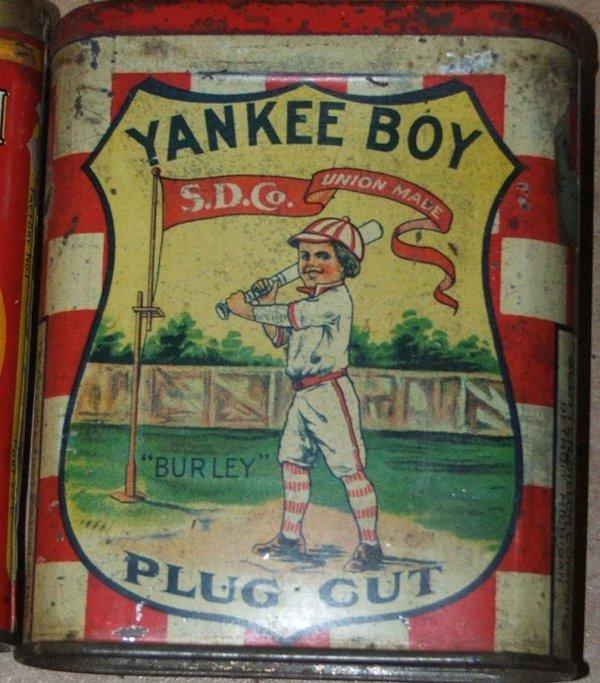 5: Yankee Boy pocket tobacco tin variant