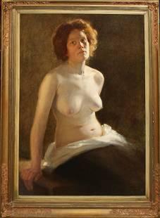 John Troistch (DE 1877-) Nude