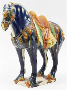 Chinese Tang Dynasty Style Terracotta Horse