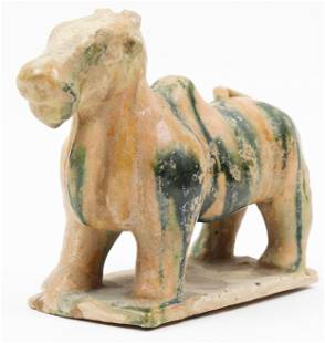 Chinese Tang Dynasty Terracotta Cow