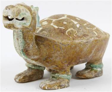 Chinese Han or Tang Dynasty Style Turtle