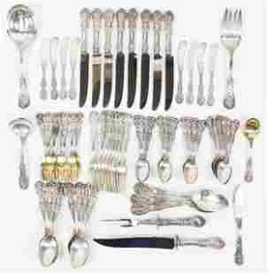 68 pc Reed and Barton Francis I Sterling Flatware