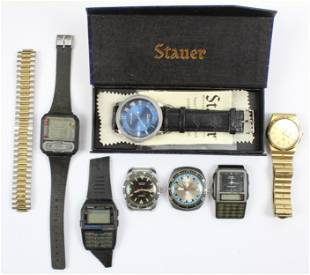 Vintage Men's Wrist Watches