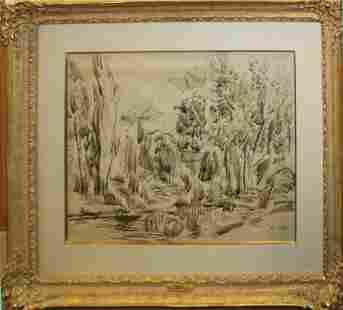 Jean Dufy (FR 1888-1964) Paysage