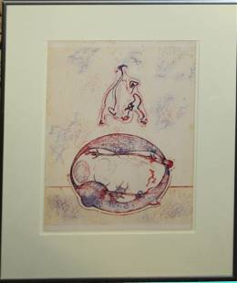 Max Ernst (DE 1891-1976) Untitled
