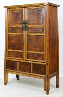Antique Chinese Cupboard Storage Cabinet