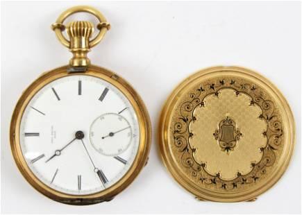 Paul Breton 18k Pocket Watch