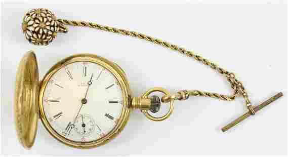 18k Waltham Pocket Watch