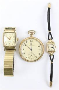 Group of 3 Watches
