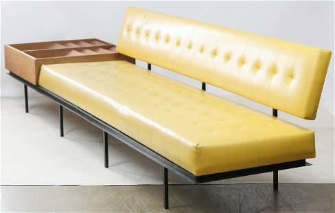 Florence Knoll Model 578 Sofa with Magazine Rack
