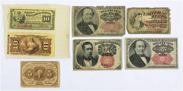 US Fractional Currency, Postal Currency