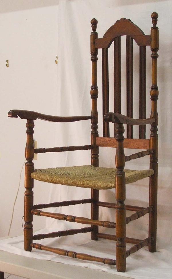 5: Queen Anne bannister back armchair