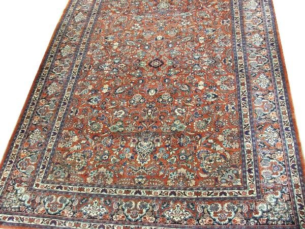 """23: early 20th century 9'11"""" x 13'7"""" Persian all over f"""