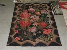 172 31 x 410 Waldoboro hooked rug