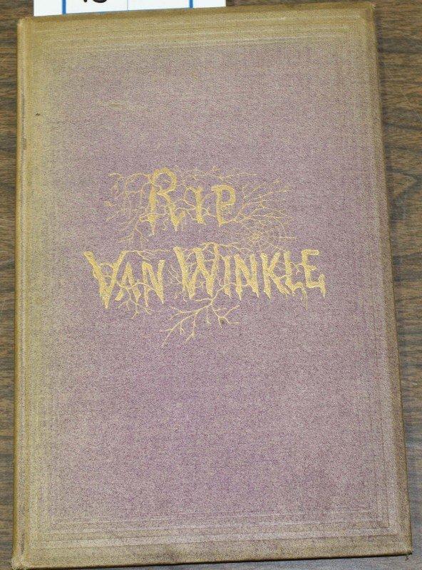 """13: 1870 """"Rip Van Winkle"""" by Washington Irving"""