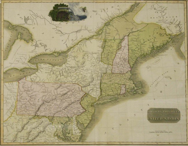 "24: 1817 Thompson ""Northern Provinces of the United Sta"