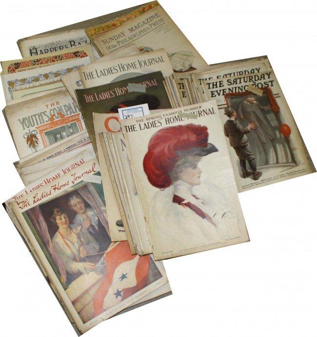 297: 1900-20's Ladies Home Journal, Youth Companion, Ha