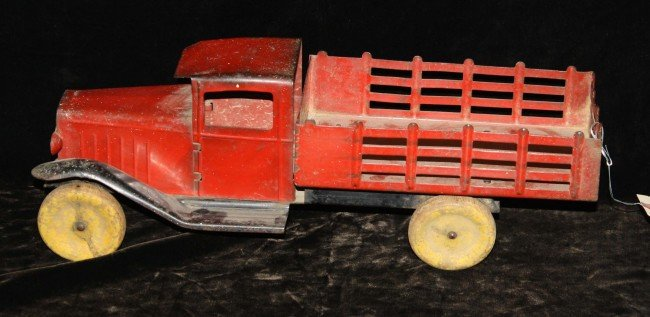 1: 15 inch steel stake bed truck