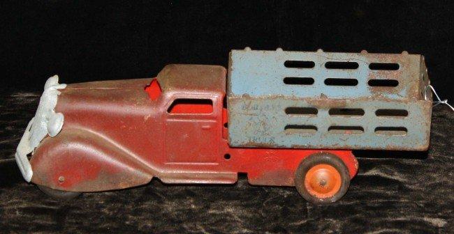2: Marx 11 1/2 inch steel builders truck